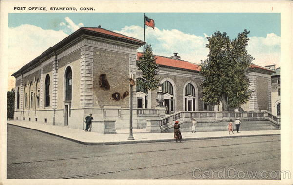 Post Office, Stamford, Connecticut