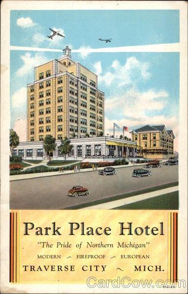 Park Place Hotel - The Pride of Northern Michigan Traverse City