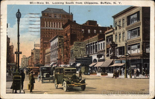 Main Street, Looking South from Chippewa Buffalo New York
