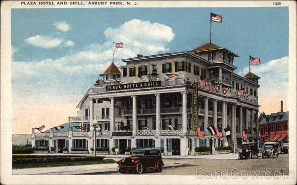 Plaza Hotel and Grill Asbury Park New Jersey