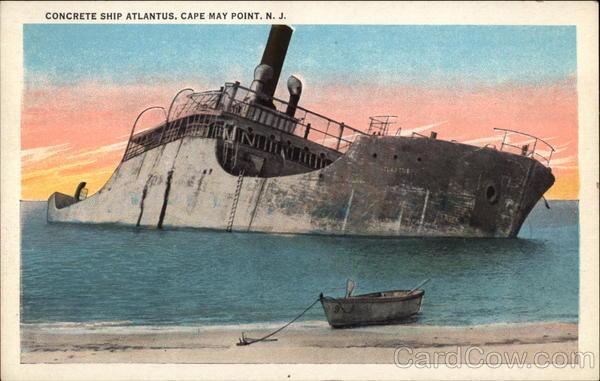Cape May Hotels >> Concrete Ship Atlantus Cape May Point, NJ