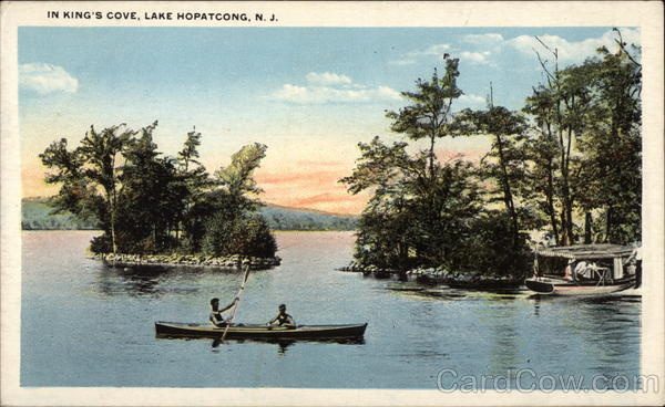 View of King's Cove Lake Hopatcong, NJ