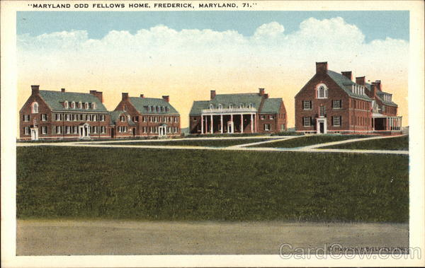 Maryland Odd Fellows Home Frederick