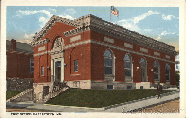 Post Office Hagerstown Maryland