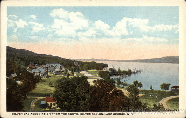 Silver Bay Association from the south Silver Bay-on-Lake George New York