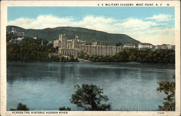 Across the Historic Hudson River - U. S. Military Academy, West Point New York
