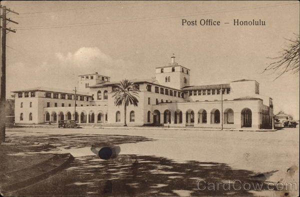 Post Office Honolulu Hawaii
