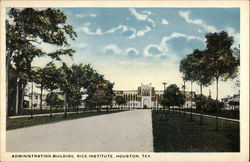 Rice Institute - Administration Building