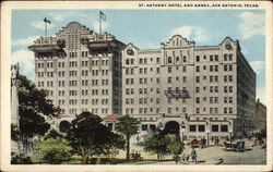 St. Anthony Hotel and Annex Postcard