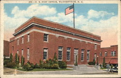 U. S. Post Office, Waynesville, North Carolina