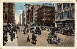 State Street, North from Adams Street Postcard