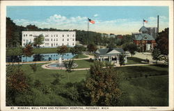Mineral Well Park and Petoskey Hospital
