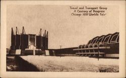 Travel and Transport Group, A Century of Progress Postcard