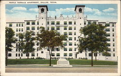 Maple Terrace Apartment Postcard