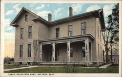 King's Daughters Home Postcard