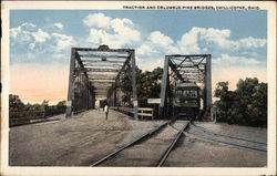 Traction and Columbus Pike Bridges