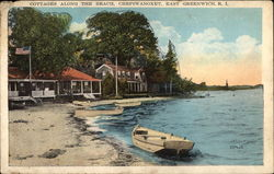 Cottages Along the Beach, Chepiwanoxet