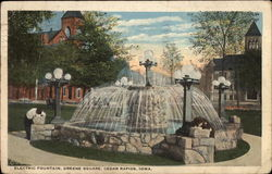 Electric Fountain, Greene Square