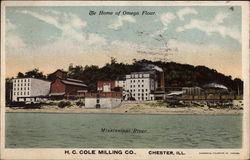 The Home of Omega Flour, H. C. Cole Milling Co
