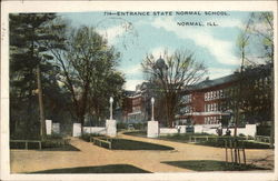 Entrance State Normal School