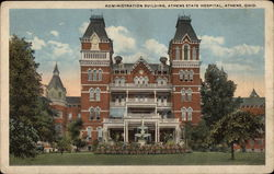 Athens State Hospital - Administration Building