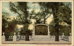 Shaw Memorial, By Augustus Saint Gaudens Postcard