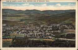 View of North Adams from Western End of Mohawk Trail