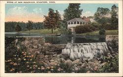 Scene at New Reservoir Postcard