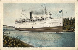 SS Missouri, Michigan Transit Co