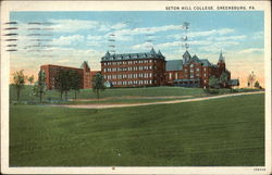 Seton Hall College Postcard