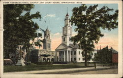First Congregational Church and Court House