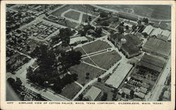 Airplane VIew of Cotton Palace