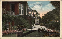 "A Home on the ""Treasure Island,"" Galveston, Texas"