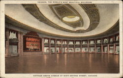 Trianon - The World's Most Beautiful Ballroom Postcard