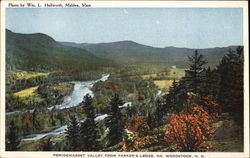Pemigewasset Valley from Parker's Ledge