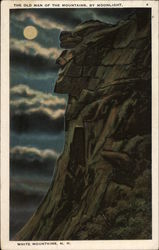 The Old Man of the Mountains, by moonlight