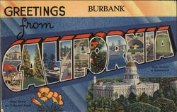 Greetings from Burbank, California