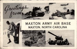 Greetings from Maxton Army Air Base