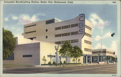 Columbia Broadcasting Station, Radio City Postcard