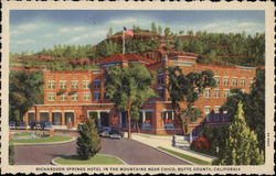 Richardson Springs Hotel Postcard