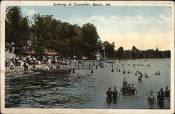 Bathing at Tolchester Beach