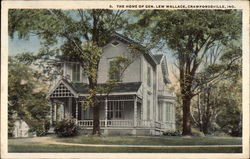 The Home of Gen. Lew Wallace