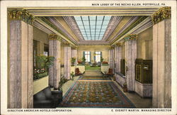 Main Lobby of the Necho Allen