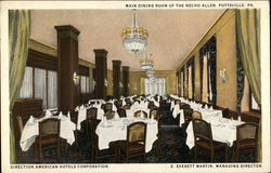 Main Dining Room of the Necho Allen