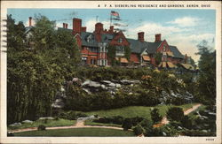 F.A. Sieberling Residence and Gardens