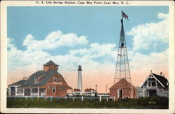 US Life Saving Station, Cape May Point