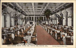 Main Dining Room, Hotel Del Monte
