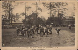 US Naval Training Camp Foot Ball Game