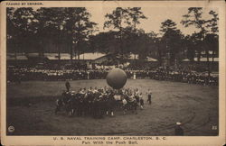 U.S. Naval Training Camp - Fun with the Push Ball