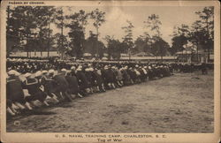 U.S. Naval Training Camp - Tug of War